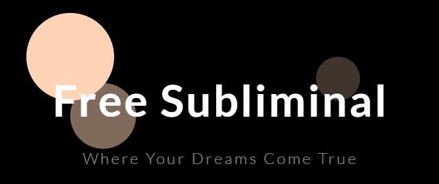 Free Subliminal